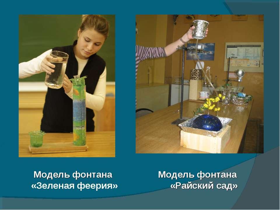 Поделки по теми физика
