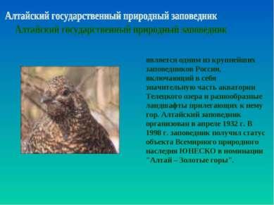 является одним из крупнейших заповедников России, включающий в себя значитель...