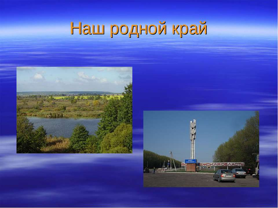 Презентация Достопримечательности Воронежской Области
