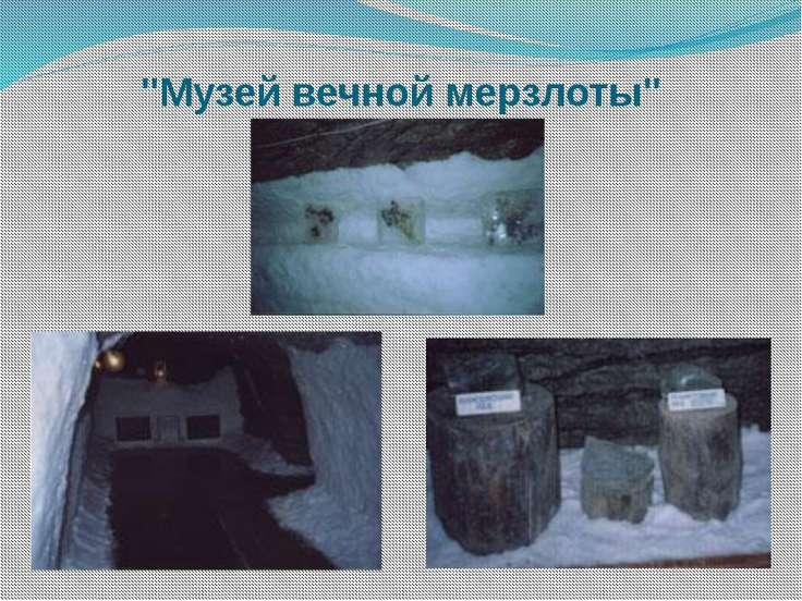 """""""Музей вечной мерзлоты"""""""