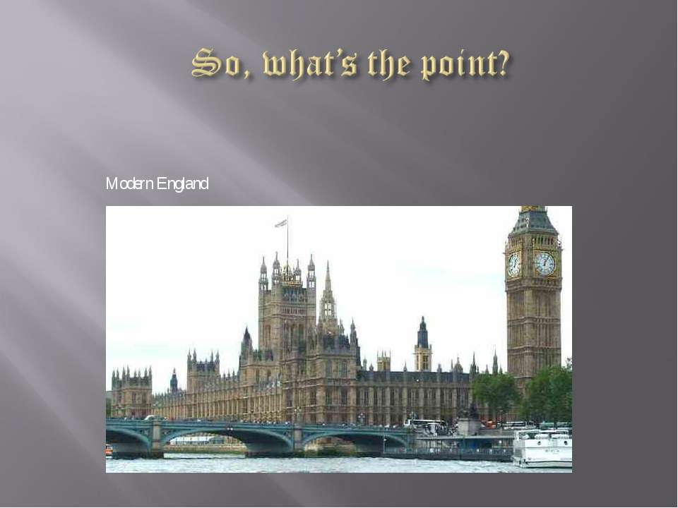 Modern England