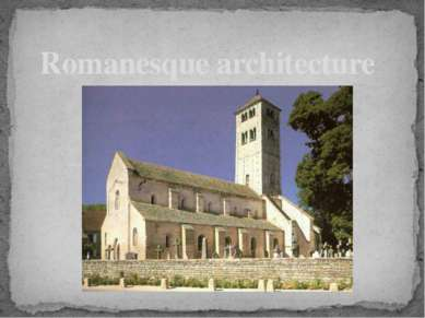 Romanesque architecture