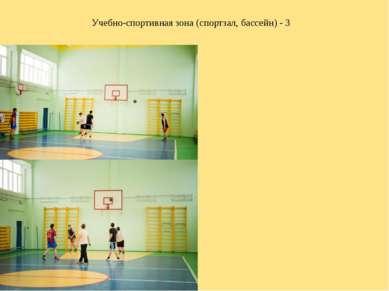Учебно-спортивная зона (спортзал, бассейн) - 3
