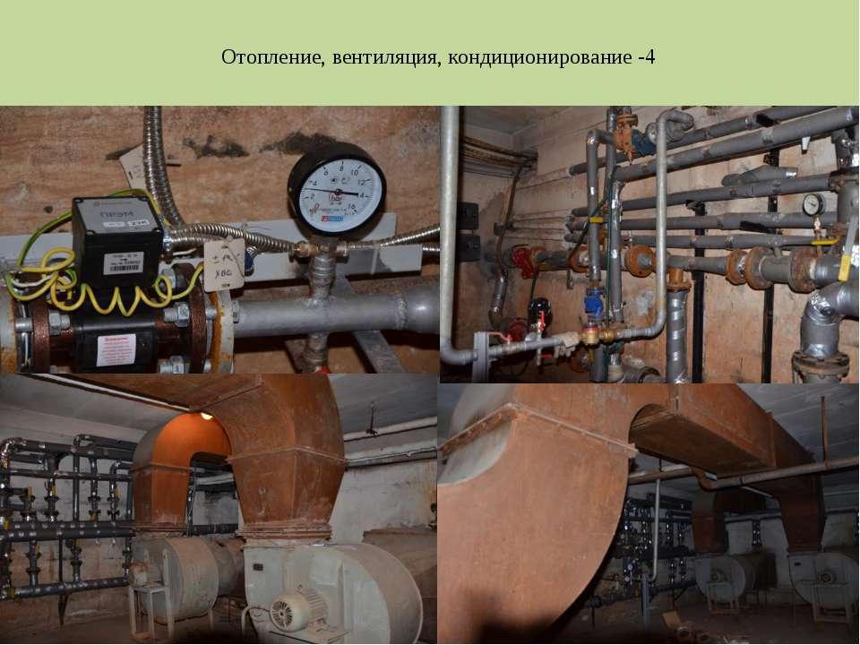 Отопление, вентиляция, кондиционирование -4