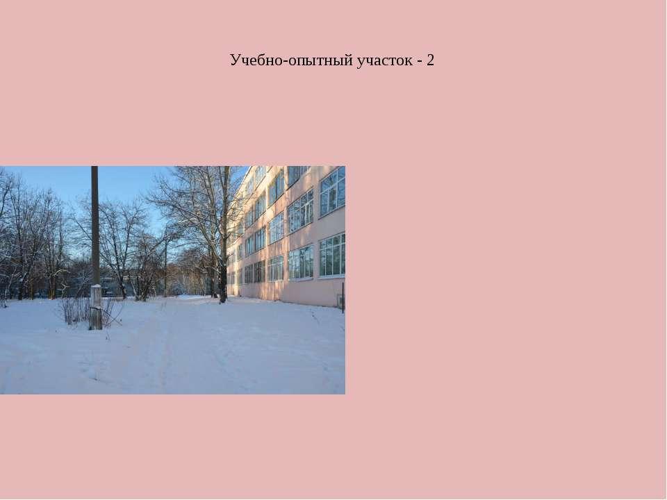 Учебно-опытный участок - 2